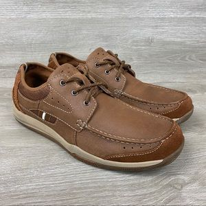 Clarks Watkins Casual Leather Lace Up Shoes 10.5